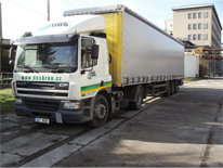 The 1st trailer truck was bought - the DAF CF 75