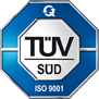 Obtained the quality certificate ISO 9001:2009 from the company TÜV