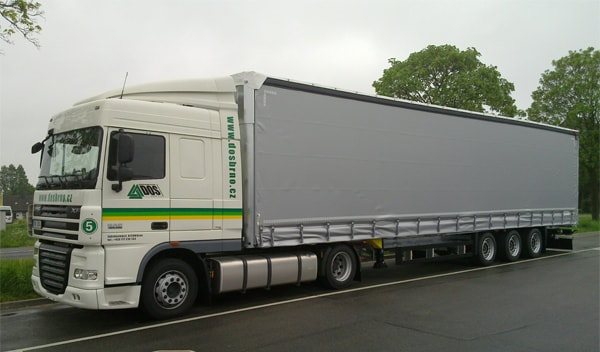 The monitoring and communicating system with GPS support introduced, the first DAF XF